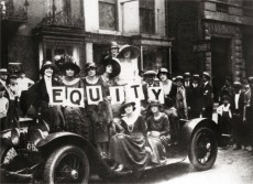 The Women of Equity Bound for Wall Street , 1919