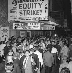 The Equity-League Pension & Health Trust Funds were created as the result of a 13-day strike which closed all Broadway theatres in June, 1960.