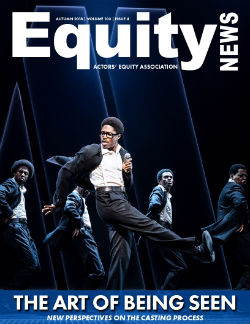 Cover image of Equity News: The Art of Being Seen: New Perspectives on the Castin Process